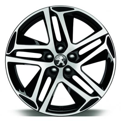 "Leichtmetallfelge Peugeot SAPHIR NOIR 18"" - Neu 308 (T9)"