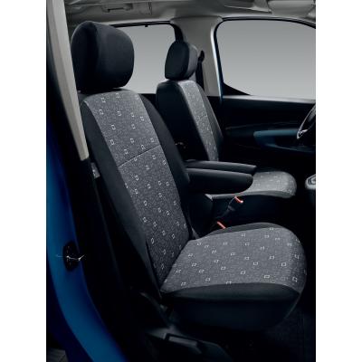Satz schonbezuege komplett TISSU ALIX - Peugeot Rifter, Citroën Berlingo (K9)