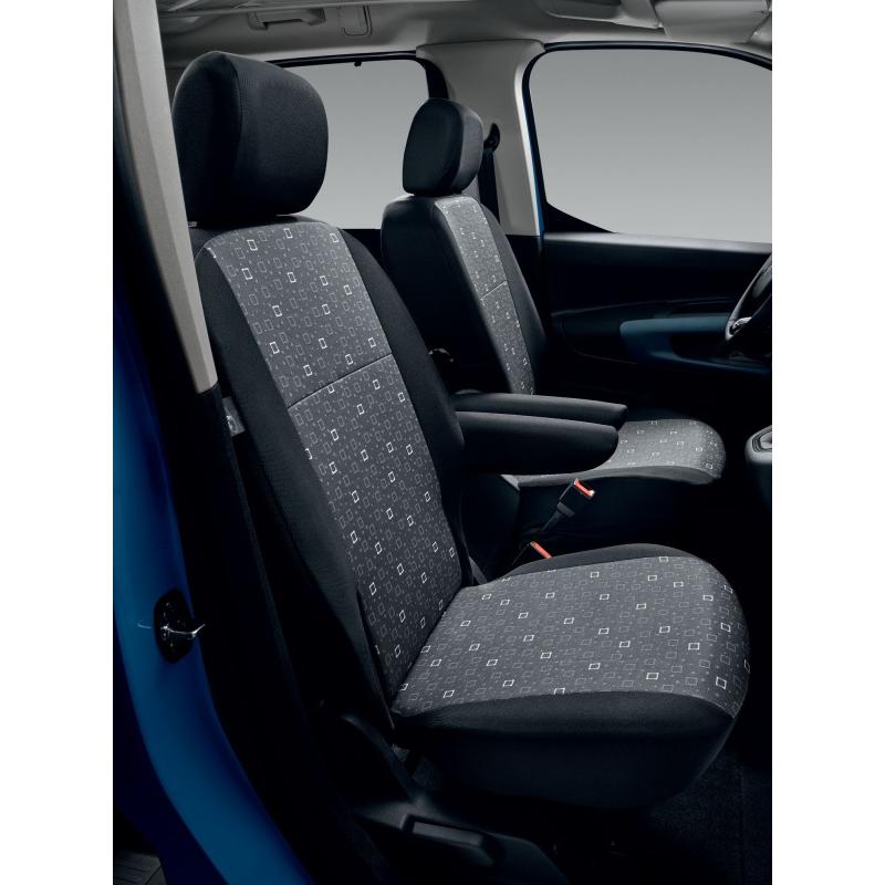 Set of covers TISSU ALIX - Peugeot Rifter, Citroën Berlingo (K9)