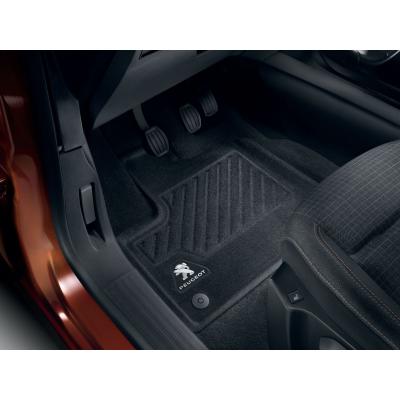 Satz bodenmatten geformt vorne Peugeot Rifter, Partner (K9)