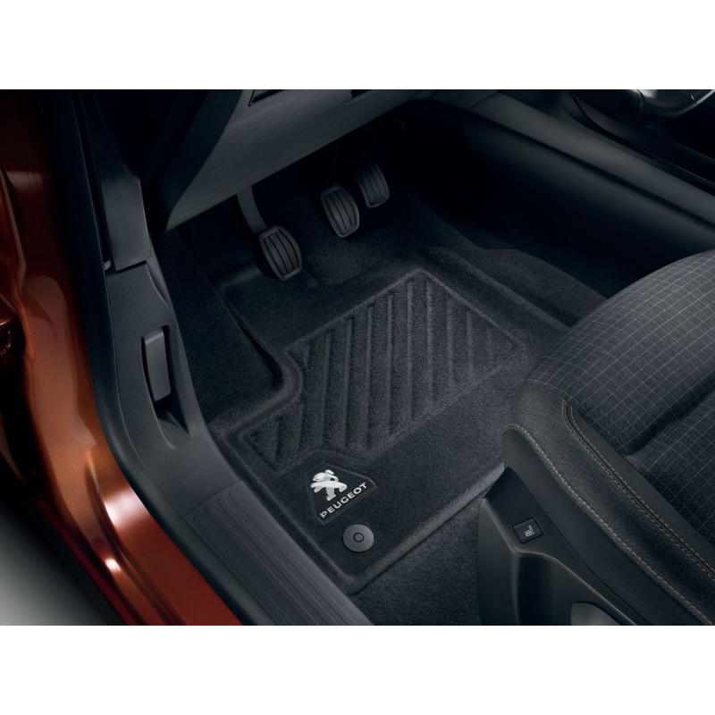 Predné tvarované koberce Peugeot Rifter, Partner (K9)
