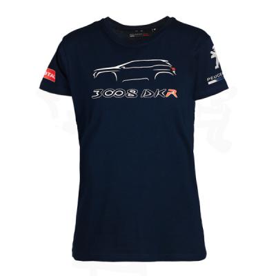 Damen T-shirt Peugeot Sport 3008 DKR