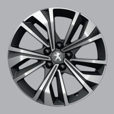 "Alu kolo Peugeot MERION černé 17"" - 508 (R8)"