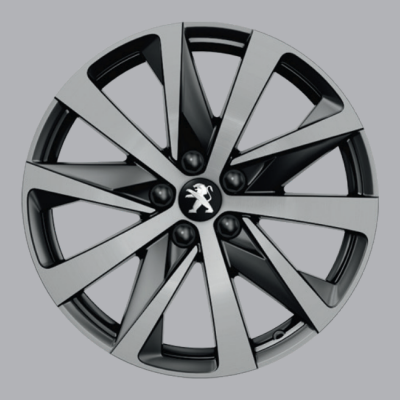 "Leichtmetallfelge Peugeot HIRONE 18"" - 508 (R8)"