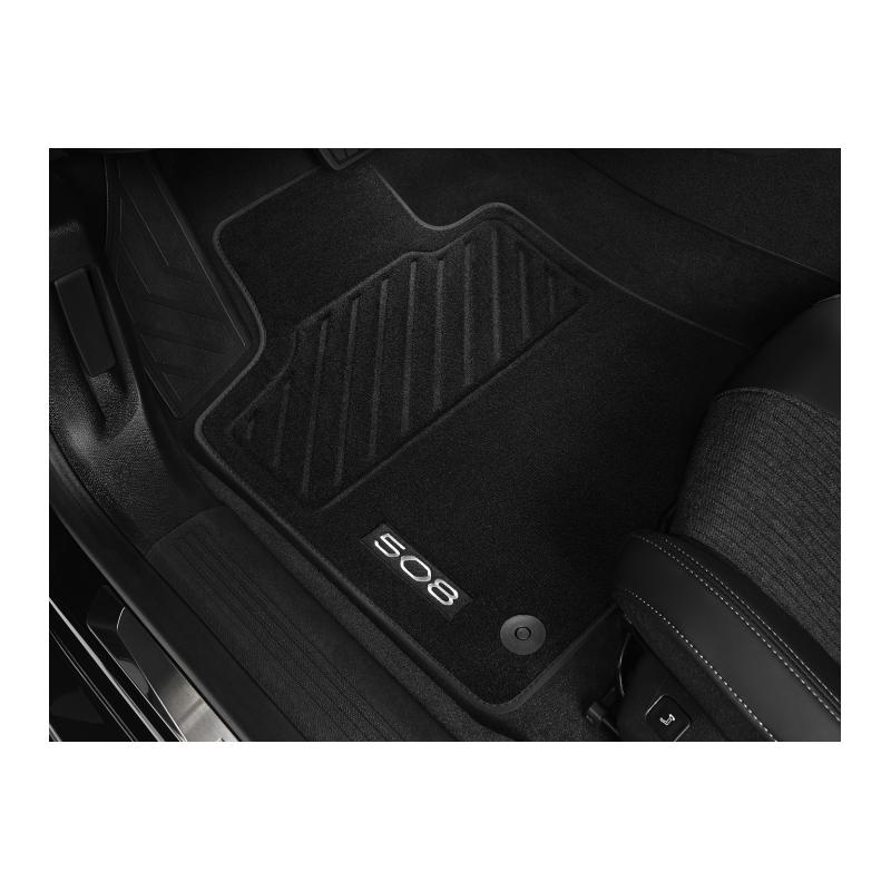 Set of velour floor mats front Peugeot 508 (R8)