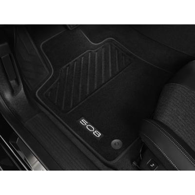 Velurové koberce Peugeot 508 (R8)