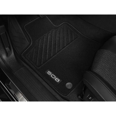 Juego de alfombrillas de moqueta acordonada delanteras Peugeot 508 (R8)