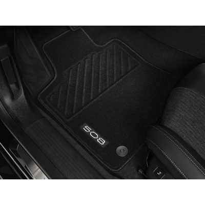 Predné prešívané koberce Peugeot 508 (R8)