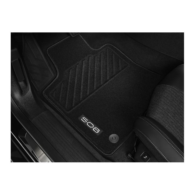 Serie di tappetini in moquette agugliata anteriori Peugeot 508 (R8)