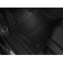 Set of rubber floor mats front Peugeot 508 (R8)