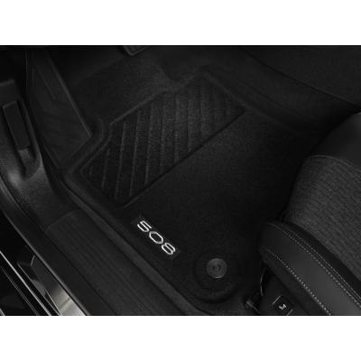 Serie di tappetini sagomati Peugeot 508 (R8)