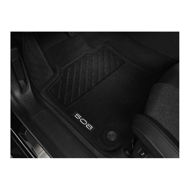 Satz bodenmatten geformt Peugeot 508 (R8)