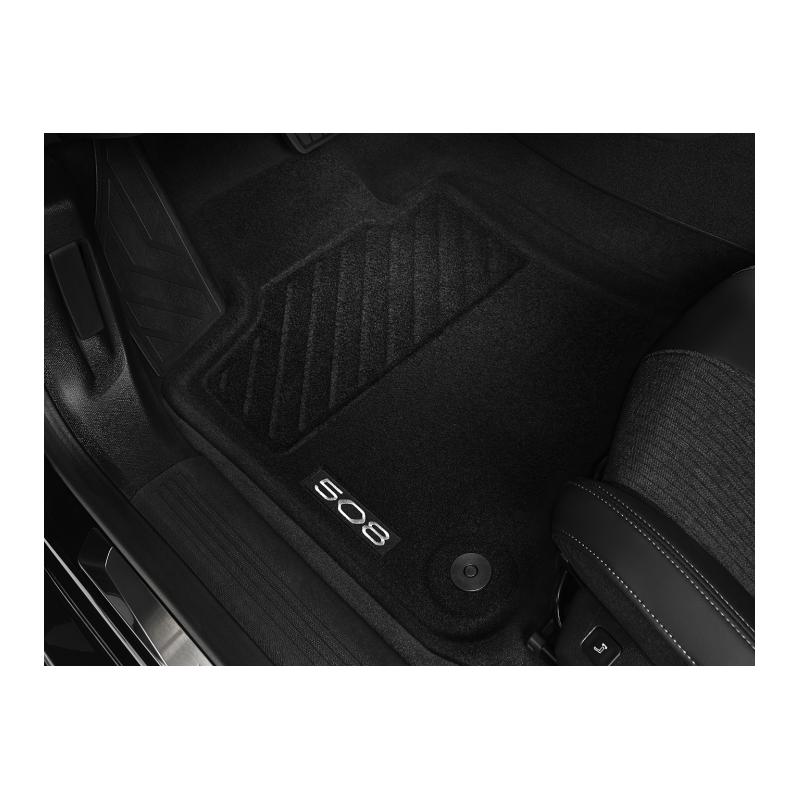 Satz bodenmatten geformt vorne Peugeot 508 (R8)