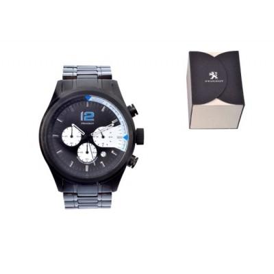 Peugeot hodinky ocelové CHRONO BRACELET