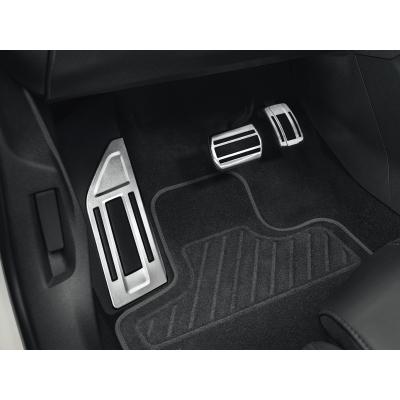 Sada hliníkových šlapek pedálů a opěry chodidla pro AUTOMATICKOU převodovku Peugeot - 508 (R8), 508 SW (R8)