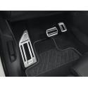 Sada hliníkových šlapek pedálů a opěry chodidla pro AUTOMATICKOU převodovku Peugeot - Nová 3008 (P84), Nová 5008 (P87)