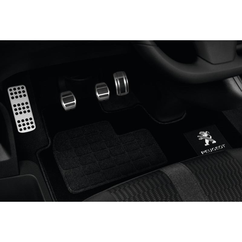 Alfombrilla monobloque delantera de moqueta punzonada Peugeot Traveller