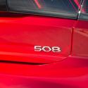 """Štítok """"508"""" zadná časť vozidla Peugeot 508 (R8)"""