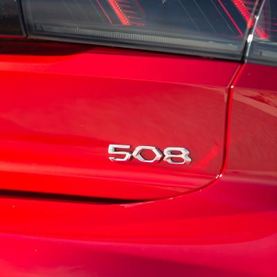 "Monograma ""508"" trasero Peugeot 508 (R8)"