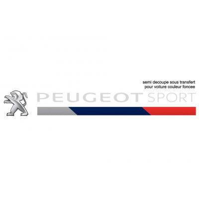 Samolepka světlá Peugeot Sport