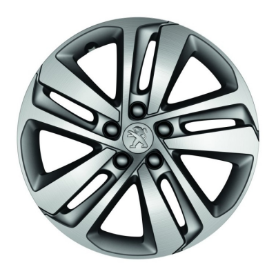 "Set of 4 alloy wheels PHOENIX 17"" Peugeot Traveller, Expert 4"