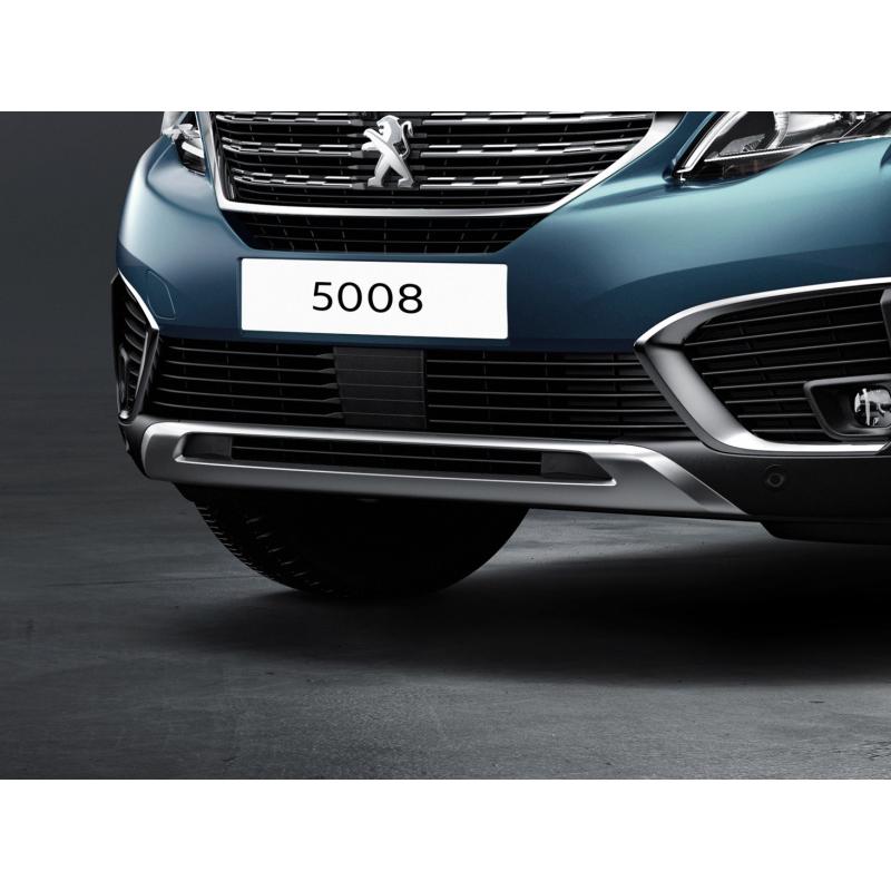 Okrasná lišta predného nárazníka LION GREY Peugeot - 5008 (P87)