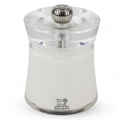 Peugeot BALI Molinillo de sal color blanco 8 cm