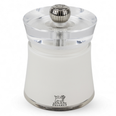 Peugeot BALI Salt Mill white 8 cm