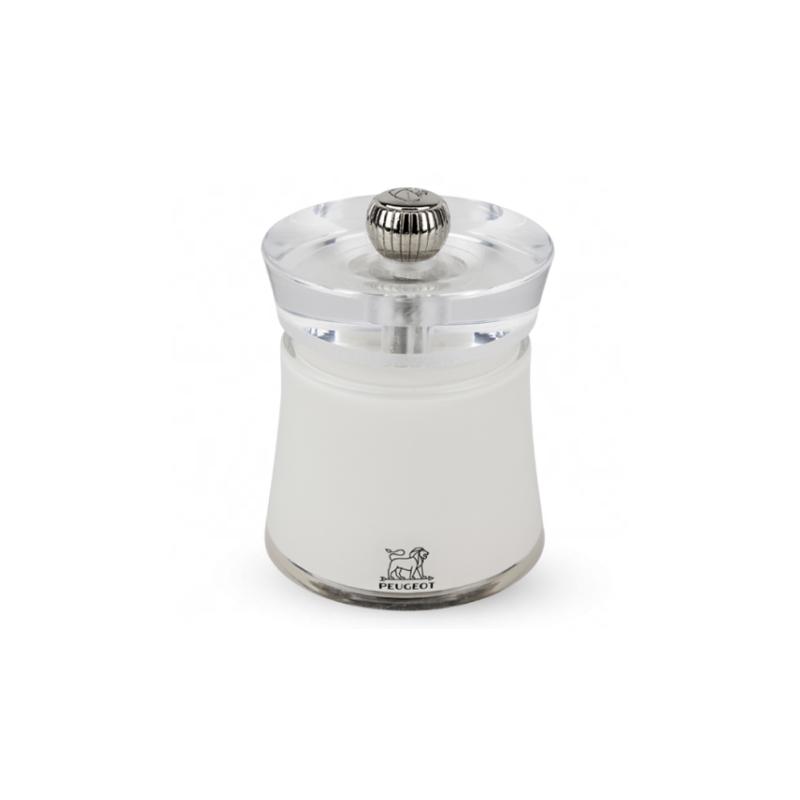 Peugeot Mlýnek na sůl BALI bílý 8 cm