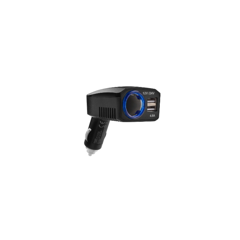 3-in-1 12-V charger