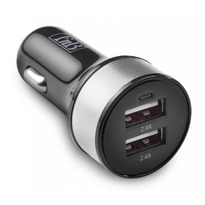 Nabíječka do auta (autonabíječka) 2 USB MAX 4,8 A