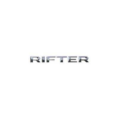 "Monograma ""RIFTER"" trasero Peugeot Rifter"