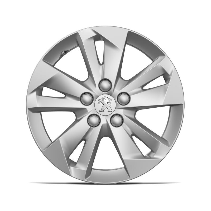 """Satz mit 4 Leichtmetallfelgen TARANAKI 16"""" Peugeot Rifter"""