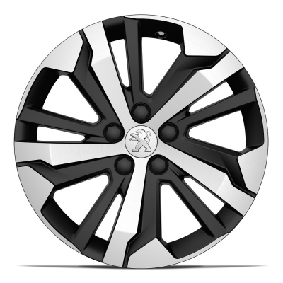 "Set of 4 alloy wheels AORAKI 17"" Peugeot Rifter"