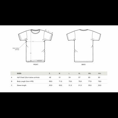 Männer weißes T-Shirt Peugeot LEGEND 2018