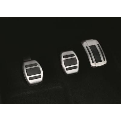 Kit pedali e poggiapiedi in alluminio per cambio MANUALE Peugeot, Citroën, DS, Opel