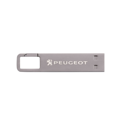 Flash disk USB klíčenka 16 GB Peugeot