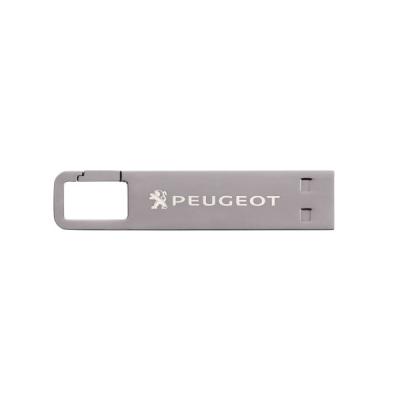 Flash disk USB klíčenka 16 GB Peugeot