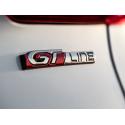 """Štítek """"GT LINE"""" zadní část vozu Peugeot 2008"""