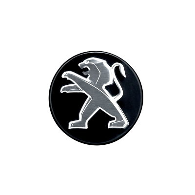 Abdeckkappe für leichtmetallfelge Peugeot schwarzem onyx