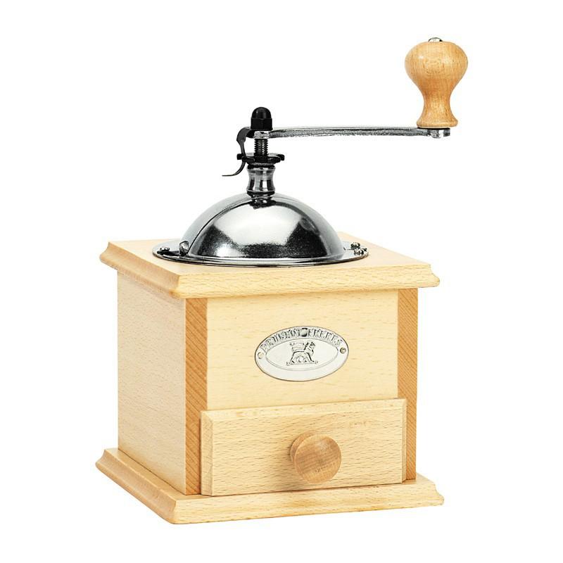 SALVADOR mlýnek na kávu z bukového dřeva, Peugeot