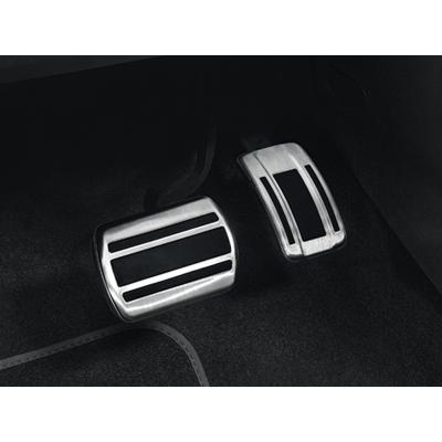 Sada hliníkových pedálů pro AUTOMATICKOU převodovku Peugeot - 508 (R8), 508 SW (R8)