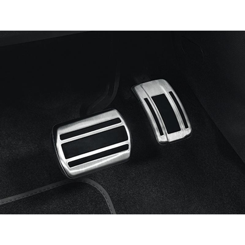 Súprava hliníkových pedálov na nohy pre AUTOMATICKOU prevodovku Peugeot - 508 (R8), 508 SW (R8)