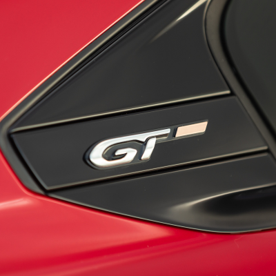 "Badge ""GT"" left side of vehicle Peugeot 508 (R8)"