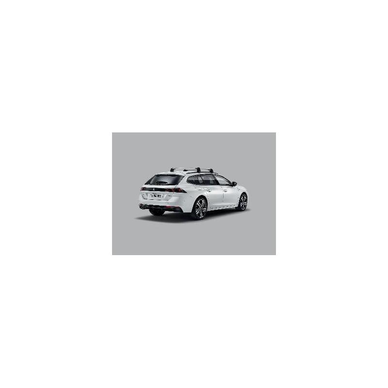 Serie di 2 barre del tetto trasversali Peugeot 508 SW (R8)