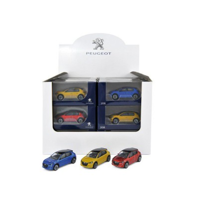 Modellino Peugeot 208