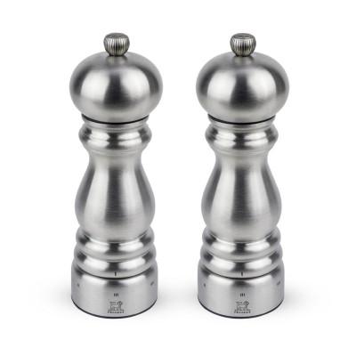 Peugeot PARIS CHEF U'Select Dúo de molinillos de pimienta y sal, 18 cm