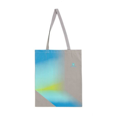 "Tote bag Peugeot ""ELECTRIC"" grau"