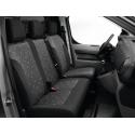 Potahy zadních sedadel TISSU ALIX - Peugeot Traveller, Citroën Spacetourer