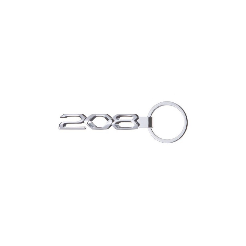 Schlüsselanhänger Peugeot 208